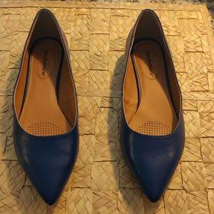 Size 10 Blue Flats